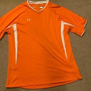 Under Armour Orange Athletic Top